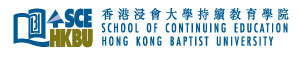 香港浸會大學持續教育學院標誌