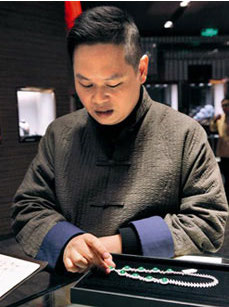 葉毅先生分享翡翠玉石收藏之美