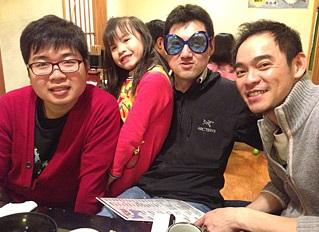 Derek與日本傳教士的聚會