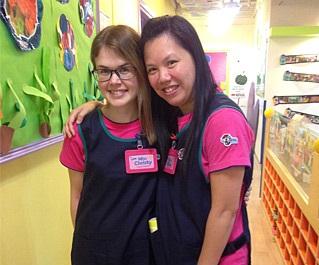 Christy現為班主任,與教學助理一起負責教學及課室管理工作