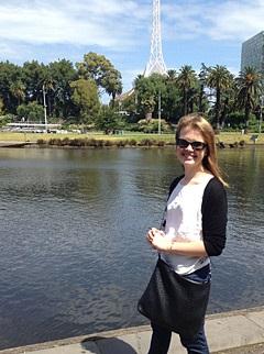 Christy在澳洲時的生活照