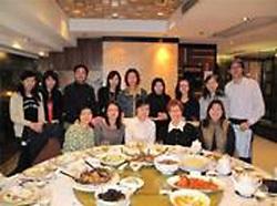2009年2月同學聚會,SCE 的老師也有出席。