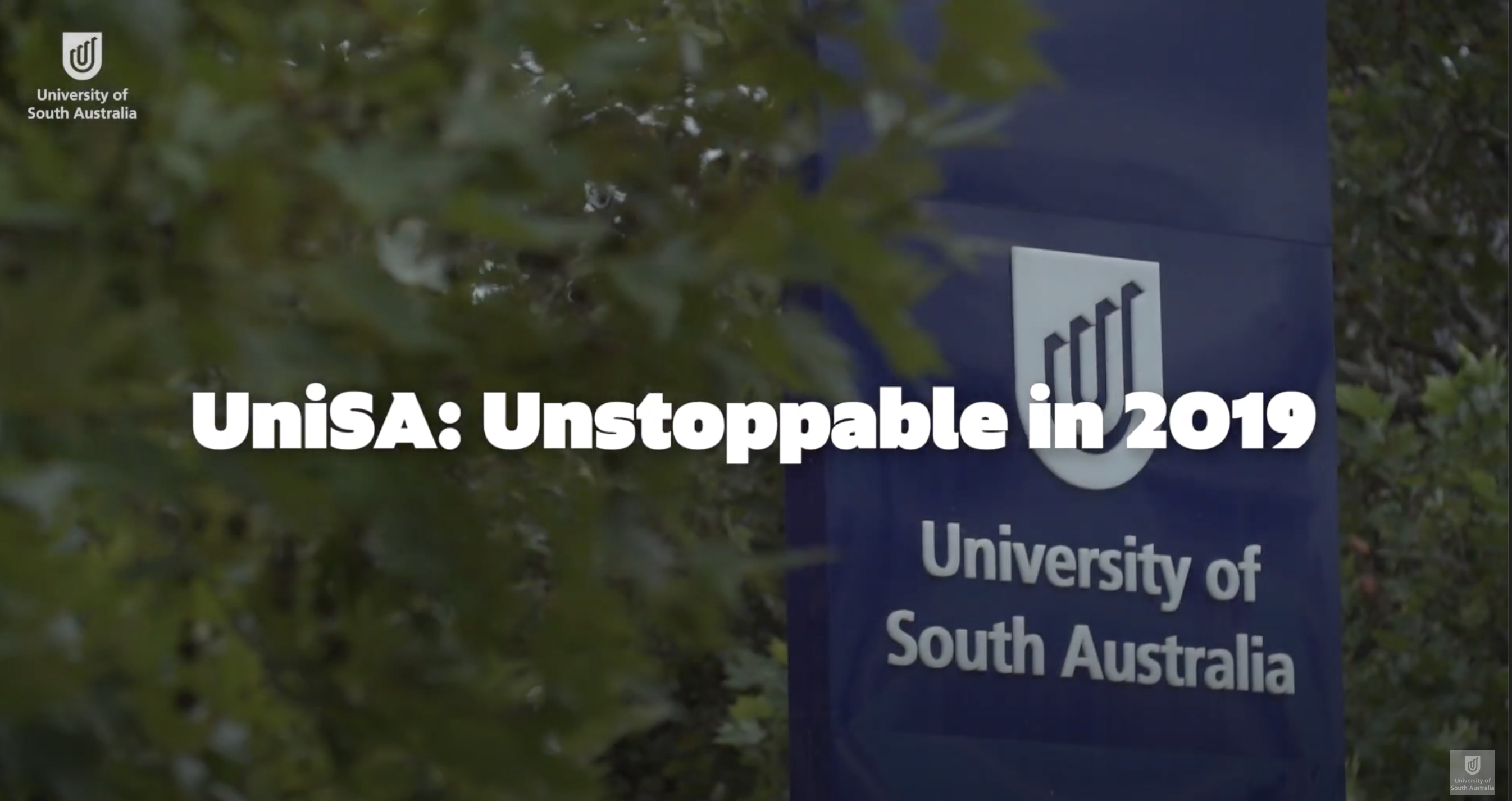 UniSA: Unstoppable in 2019