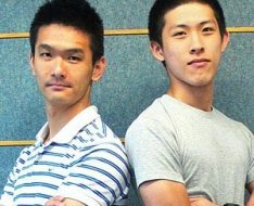 吳碩鏗(左)及蘇梓軒。