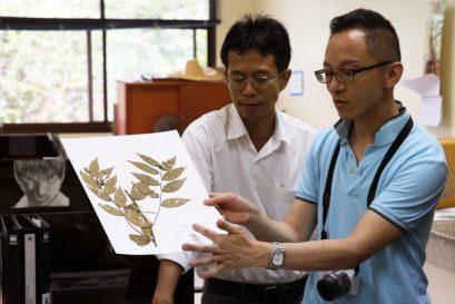 國際學院樹木管理專修講師鄧銘澤博士率領同學到泰北的植物園及蘑菇研究中心,認識當地的稀有品種。