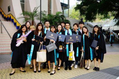 近2,500持續教育學院畢業生於香港浸會大學第59屆畢業典禮獲頒授學銜。
