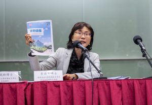 浸大持續教育學院幼兒及基礎教育部總監李南玉博士鼓勵幼稚園老師靈活運用資源套進行活動。