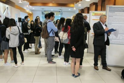 Attendees enjoy the paper and poster presentations on a wide variety of themes.