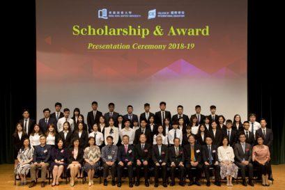 本學年有近600位副學士及自資學士學位課程同學獲頒獎學金及獎項。