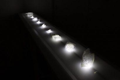 鄧詠瑤的作品「禮物」表達對母親思念的情懷。