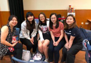 逢星期四 的「Nurse「星」Zone」,同學與導師一同聚餐、玩遊戲和小組分享,一起互相支持和同行。